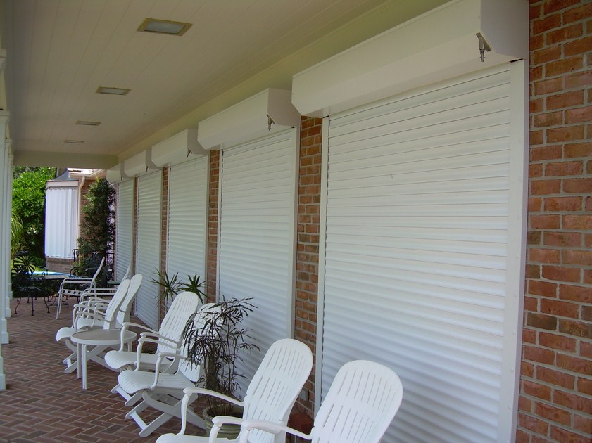 Aluminum Roll Down Shutters 10