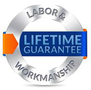labor workmanship lifetime guarantee